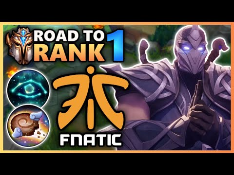 Master Tier Promos but you have to play vs FNATIC - Road To Rank 1 (#11)