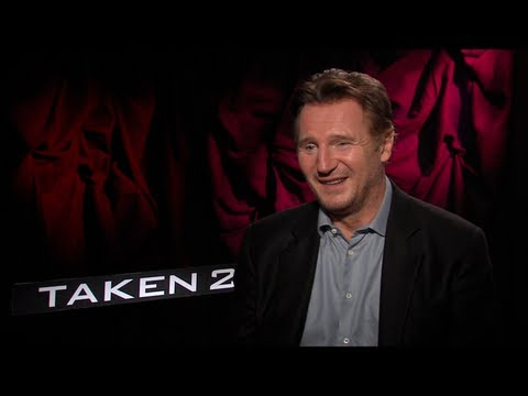 Liam Neeson Interview for TAKEN 2