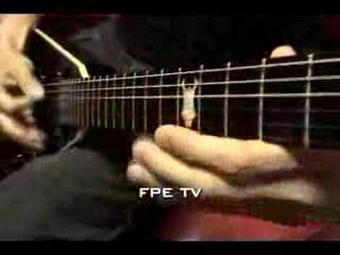 Five Finger Death Punch Metal Guitar FPE-TV Video