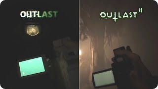 OUTLAST 2 vs OUTLAST 1 - Similarities and Differences Comparison
