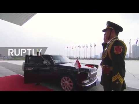 LIVE: G20 summit starts in Hangzhou: Arrivals and opening ceremony