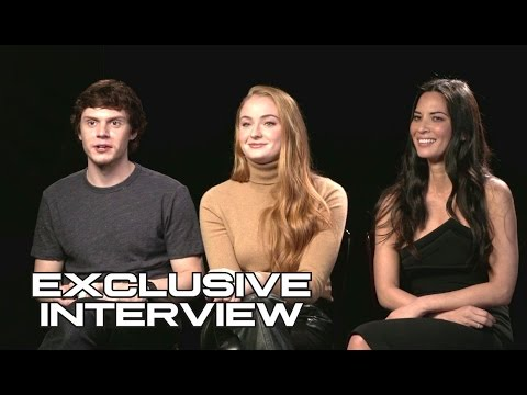 Sophie Turner, Olivia Munn & Evan Peters Exclusive X-MEN: APOCALYPSE Interview (2016) JoBlo.com HD