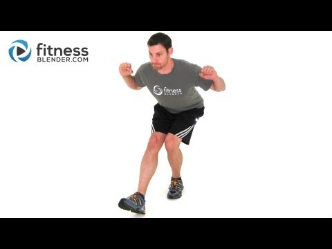 Low Impact HIIT Workout by FitnessBlender.com