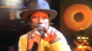 Pharrell Video - Pharrell Williams **Happy** live @ 'Wetten Dass..?' in Düsseldorf_Germany in 2014!