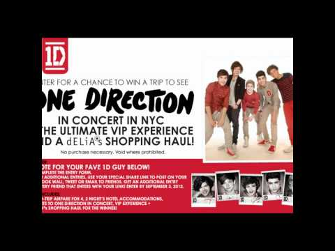 Win tickets to MEET & GREET One Direction in NYC