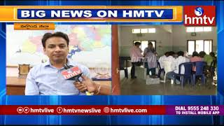 Nalgonda Collector Gaurav Uppal Face to Face over Counting Process Arrangements | hmtv