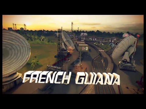 Asphalt 8 : Airborne    Season 2    French Guiana Gate Drift    All Checkpoints