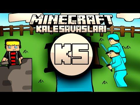 Minecraft: NDNG Kale Savaşları - Enes ile Baturay 2vs3 - Bölüm 5