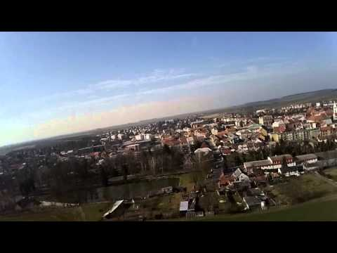 The first flight of the upgraded machine DJI Phantom F302 + photos
