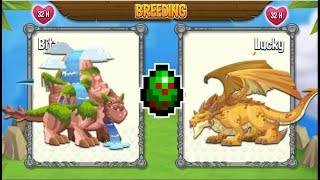 NEW BREEDING: Waterfall Dragon & War Dragon [EXCLUSIVE BREEDING]
