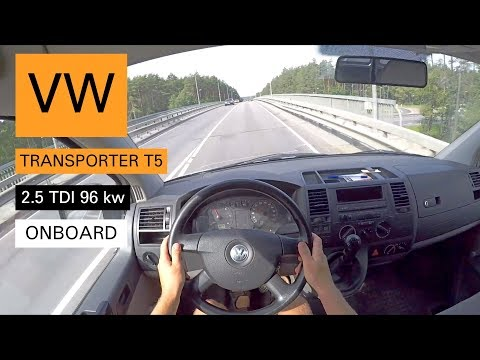 VW Transporter T5 2.5 TDI Onboard, Pov