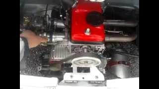 Liquid cooled Egine Fiat 126 80hp 500racing Salerno