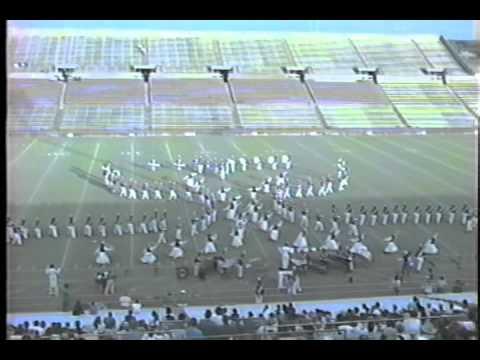 1992 Berkner Ram Band Halftime Show