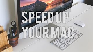 HOW TO SPEED UP YOUR SLOW MAC/ MACBOOK PRO
