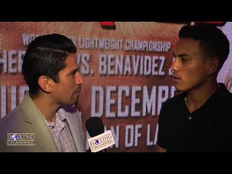 Jose Benavidez Jr feels people doubting him but sparring w Pacquiao Khan gives him advantage