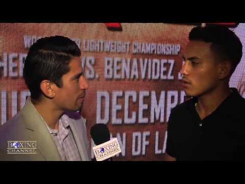 Jose Benavidez Jr feels people doubting him but sparring w Pacquiao Khan gives him advantage