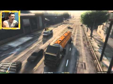 Смешные моменты/баги c Летсплейщиками в GTA V