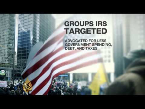 IRS accused of targeting US conservative parties