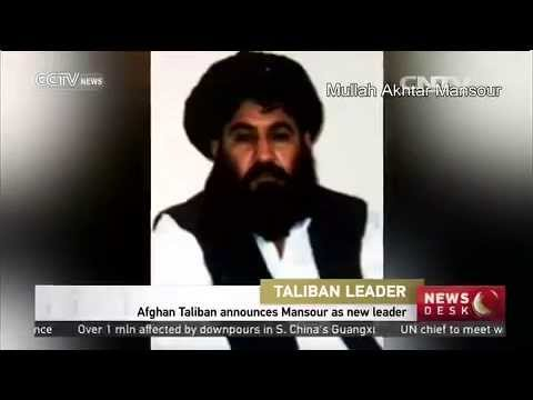 Afghan Taliban announces Mansour as new leader