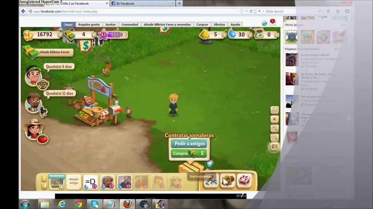 Ganar Dinero gratis en FarmVille 2 - YouTube