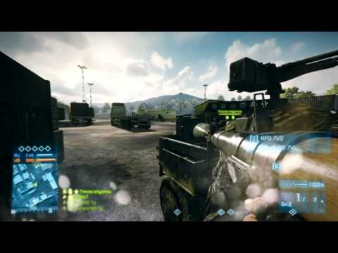 BF3 Jousting Fun