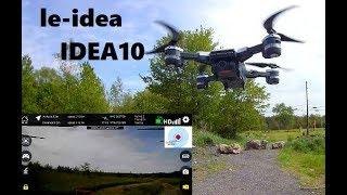 le-idea IDEA10 GPS WiFi Follow Me WAYPOINT RC DRONE Review