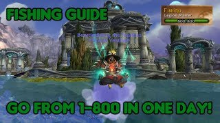 (Outdated) Level Fishing from 1 to 800 SUPER FAST! - WoW: Legion Fishing Guide