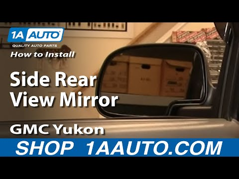 How To Install Replace Side Rear View Mirror GM