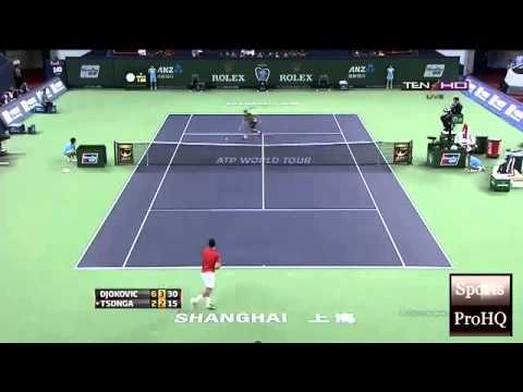 ATP SHANGHAI MASTERS OPEN 2013 ~  Semifinal   Highlights   Novak Djokovic Vs Jo Wilfried Tsonga