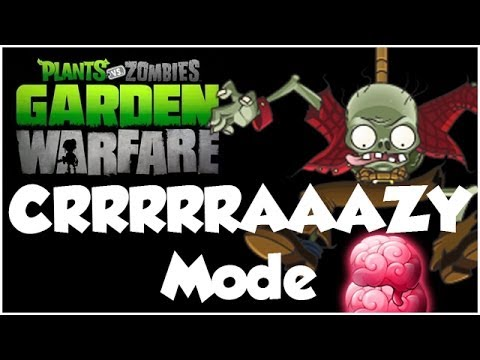 Plants vs. Zombies Garden Warfare CRAZY Mode HARDEST DIFFICULTY Xbox One 1080p HD