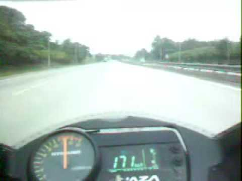 Hyosung Comet GT250R Maximum Speed Test