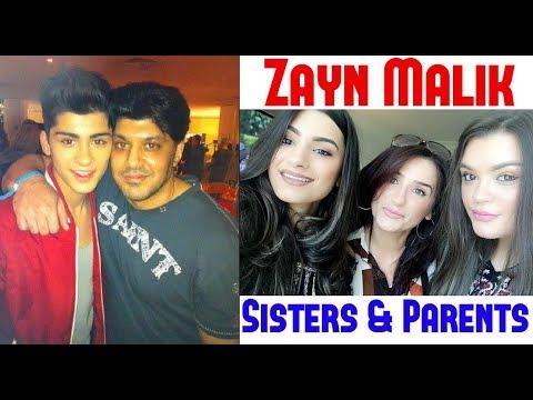 Zayn Malik Sisters & Parents | Zayn Malik (2017)