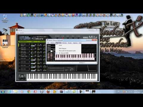 Korg M1 Le y Teclado Virtual   El Master De Los Tklados