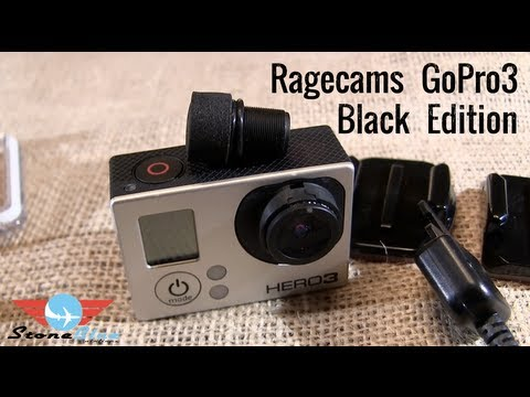 RageCams-Gopro 3 Black Edition Review 5.4mm FPV RageCam Lens Change Modification