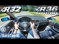 VW GOLF R32 R36 SUPERCHARGED 3 6 V6 POV Test Drive By AutoTopNL mp3