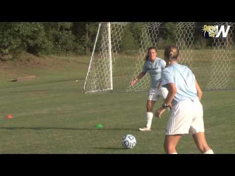 2014 Wingate Women's Soccer - Chip Wiggins practice report - August 19