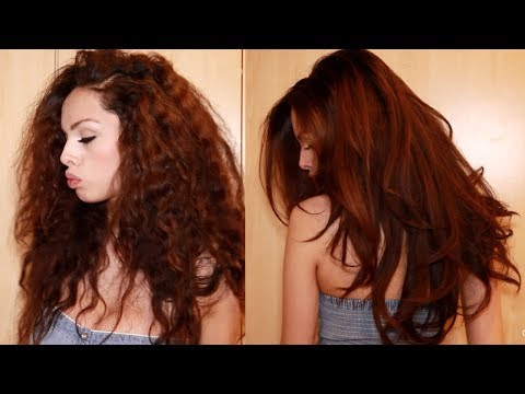 Curly Hair Routine ♡ Thick Hair Styling - AlexandrasGirlyTalk