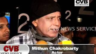 Nobel Chor - MITHUN DA PROMOTES 'NOBEL CHOR' AT MUMBAI FILM FESTIVAL