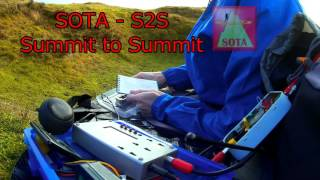 SOTA Activation of Mynydd Troed