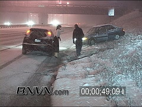12/30/2005 Winter Storm hits Minneapolis, MN