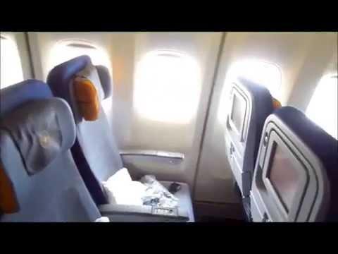 Lufthansa Jumbo B747-400 Frankfurt - Toronto Pearson