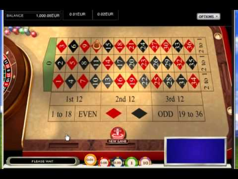Roulette Winning Strategy