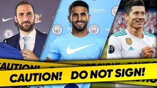 10 Players Your Club SHOULD NOT Sign!
