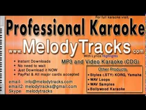 Abhi Na Jao chod kar Varsion 3 KarAoke - www.MelodyTracks.com...