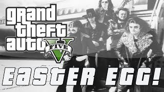 "Grand Theft Auto 5 | Deep Purple's ""Smoke on the Water"" Easter Egg (GTA V)"