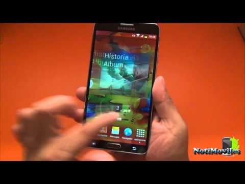HDC Galaxy Note 3 N9000 Clon Samsung Note 3 Review en Español