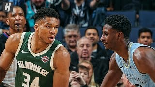 Milwaukee Bucks vs Memphis Grizzlies - Full Game Highlights | December 13, 2019 | 2019-20 NBA Season