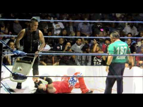 TJ BOY VS STEVE PAIN CAMPEONATO MUNDIAL MEDIO WWA VACANTE TIJUANA 2013