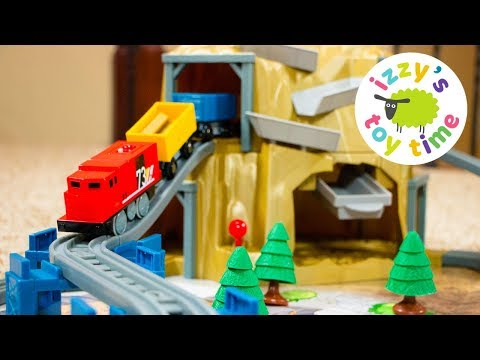 Wackmaster Power Rails Railway | Fun Toy Trains for Kids | GOLD MOUNTAIN! Videos for Children