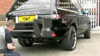 Towbar Video - Range Rover Westfalia Detachable
